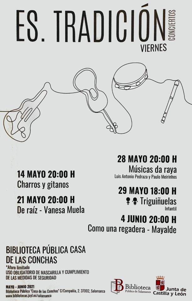 Casa de las Conchas Es.Tradición Salamanca Mayo junio 2021
