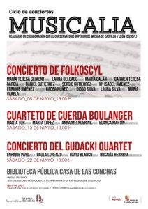 Casa de las Conchas Musicalia 2021 Salamanca Mayo 2021