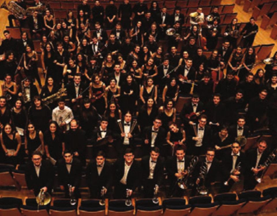 Centro de las Artes Escénicas y de la Música CAEM Orquesta Sinfónica del Conservatorio Superior de Música de Castilla y León COSCYL Salamanca Junio 2021