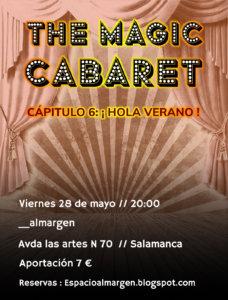 Espacio Almargen The magic cabaret 28 de mayo de 2021