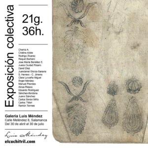 Galería Luis Méndez Artesanos 21g. 36h. Salamanca 2021