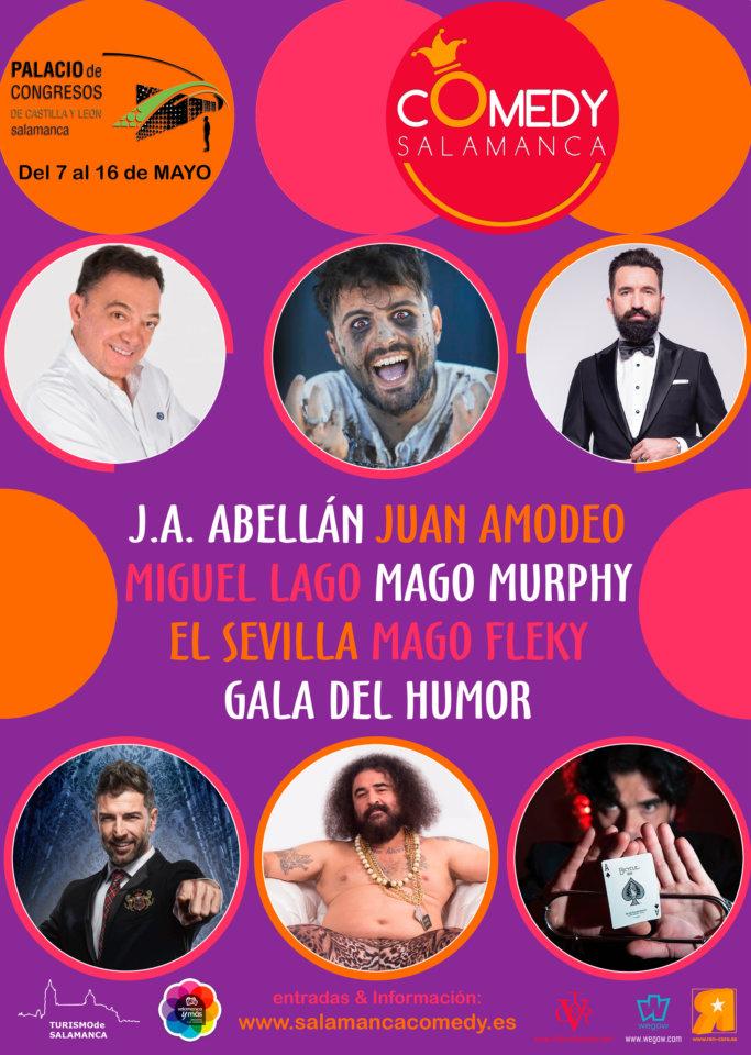 Palacio de Congresos y Exposiciones Salamanca Comedy Mayo 2021