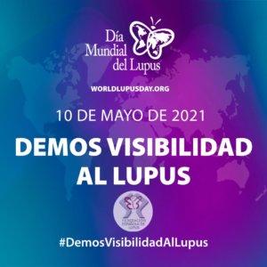 Puerta de Zamora Día Mundial del Lupus Salamanca Mayo 2021