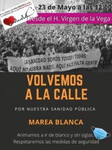Salamanca Marea Blanca Mayo 2021