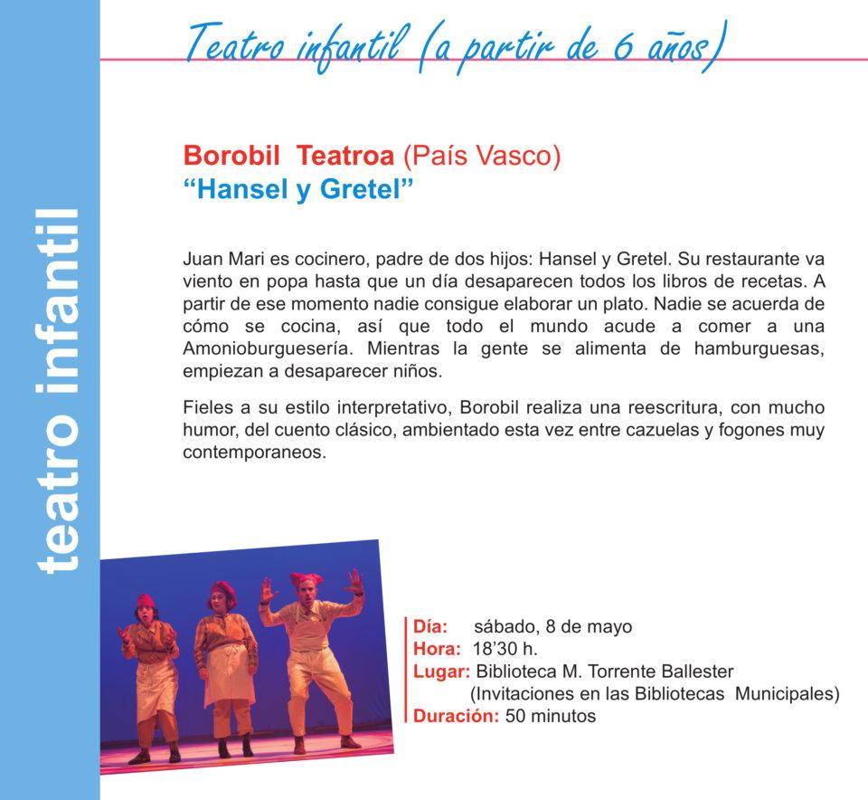 Torrente Ballester Borobil Teatroa Salamanca Mayo 2021