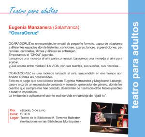 Torrente Ballester Eugenia Manzanera Salamanca Mayo 2021