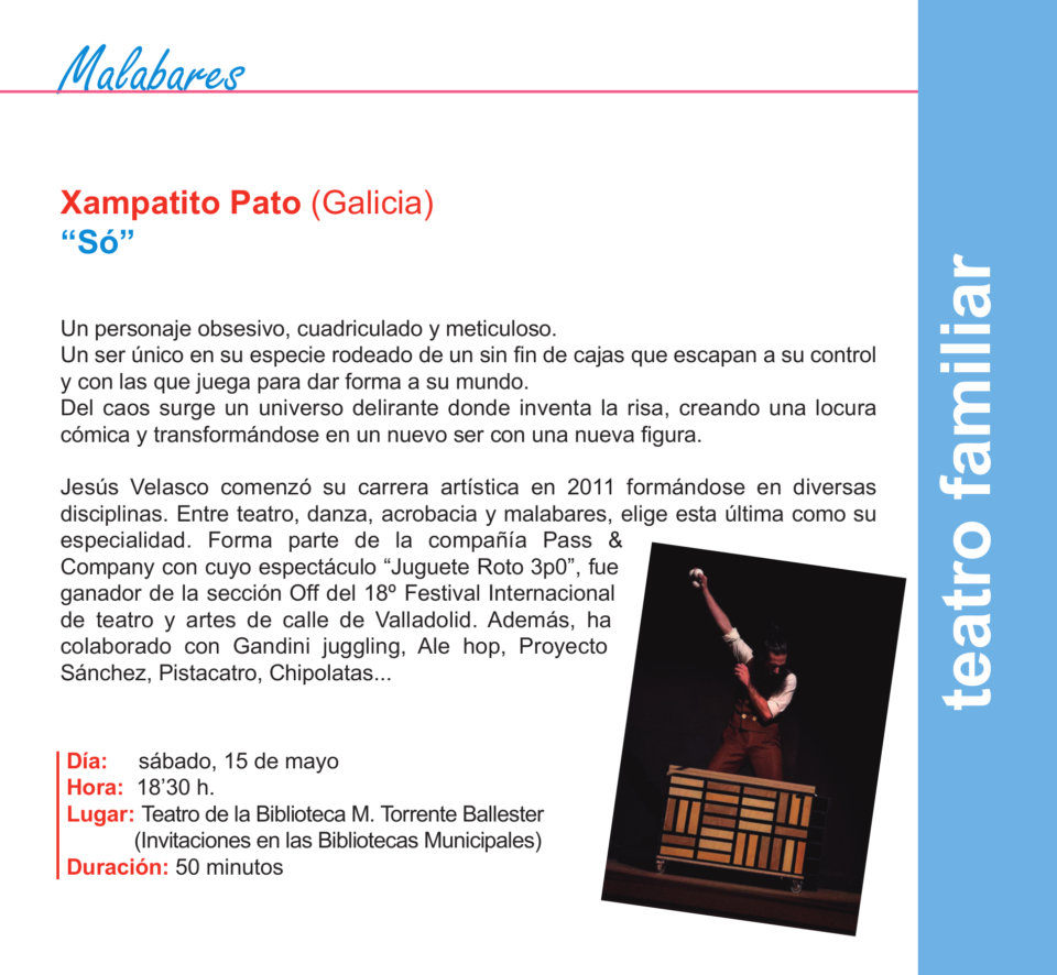 Torrente Ballester Xampatito Pato Salamanca Mayo 2021