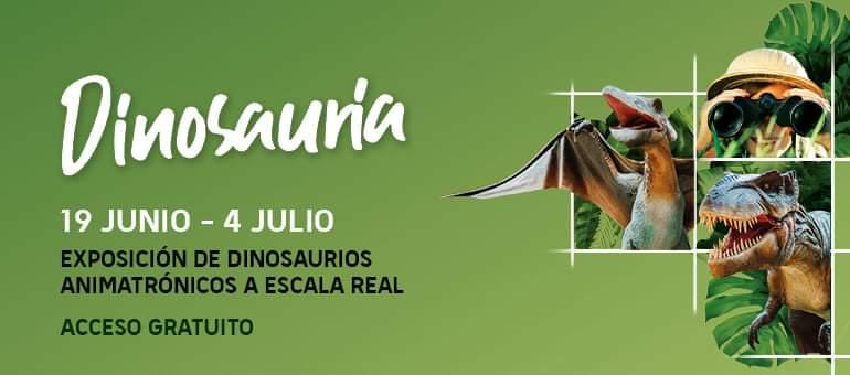 Centro Comercial El Tormes Dinosauraia Santa Marta de Tormes Junio julio 2021