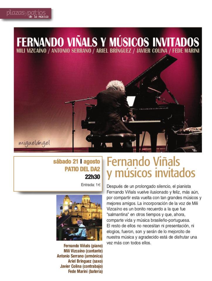 Domus Artium 2002 DA2 Fernando Viñals y músicos invitados Salamanca Plazas y Patios 2021 Agosto