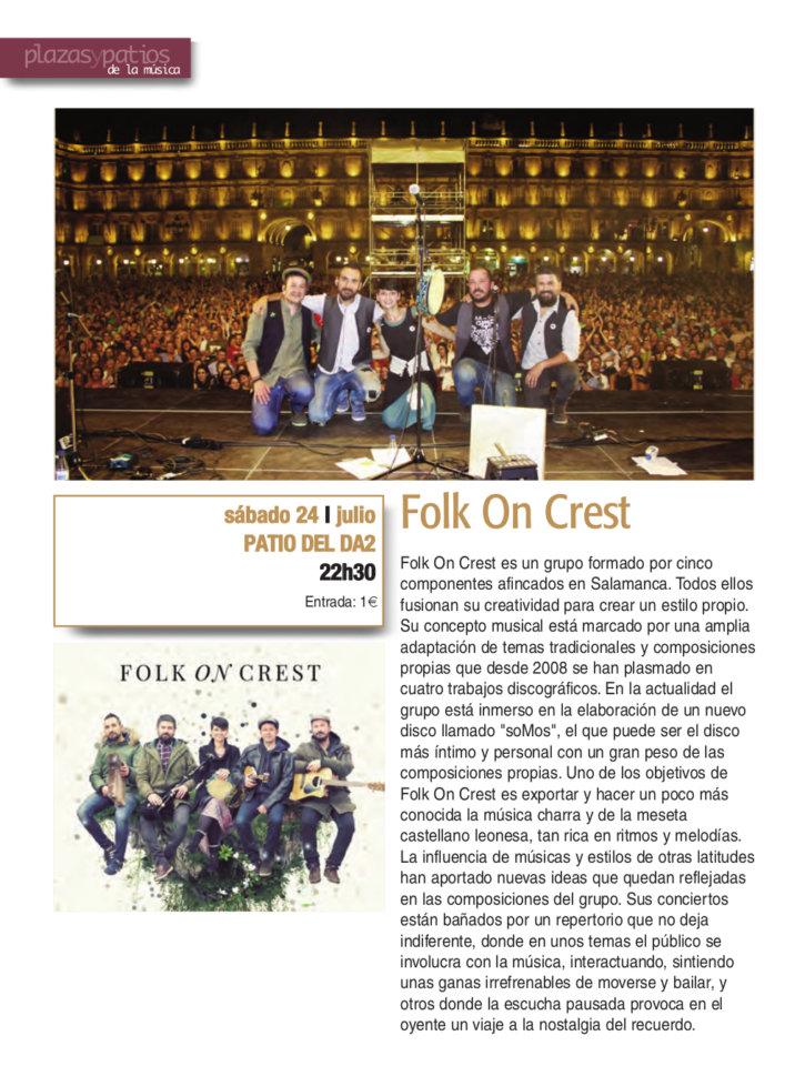 Domus Artium 2002 DA2 Folk on Crest Salamanca Plazas y Patios 2021 Julio