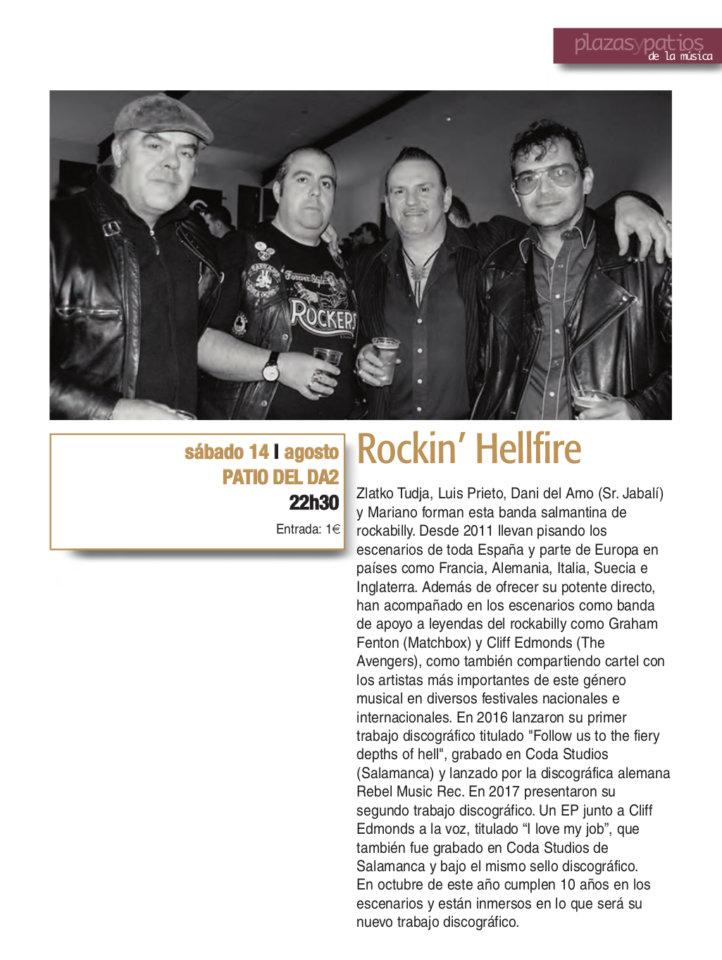 Domus Artium 2002 DA2 Rockin'Hellfire Salamanca Plazas y Patios 2021 Agosto