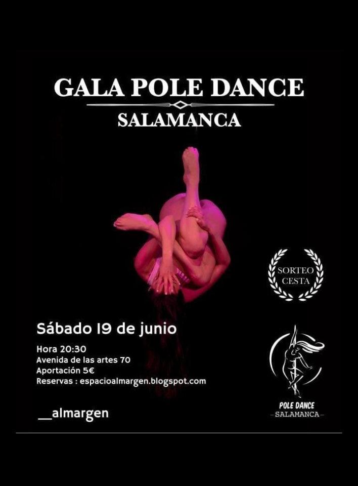 Espacio Almargen Gala Pole Dance Salamanca Junio 2021