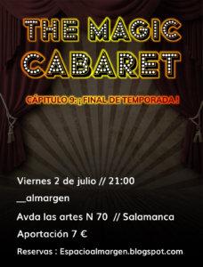 Espacio Almargen The magic cabaret 2 de julio de 2021 Salamanca