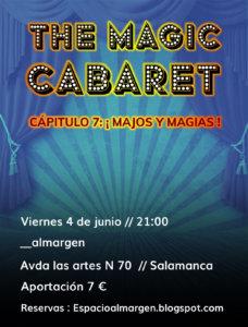 Espacio Almargen The magic cabaret 4 de junio de 2021 Salamanca