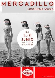 Lulu's Vintage Mercadillo de Segunda Mano 1 al 6 de junio de 2021 Salamanca