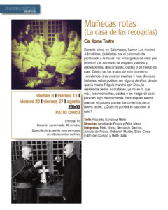 Patio Chico Muñecas rotas (La casa de las recogidas) Salamanca Plazas y Patios 2021 Agosto