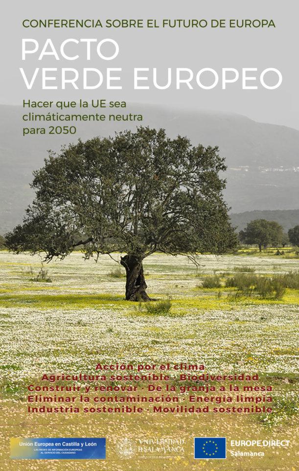 Salamanca Pacto Verde Europeo Julio 2021