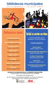 Torrente Ballester, Salamanca, Actividades Verano 2021