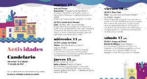 Candelario Noches de Cultura Julio 2021