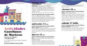 Castellanos de Moriscos Noches de Cultura Julio 2021