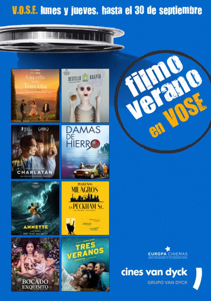 Cines Van Dyck Filmo de Verano Salamanca 2021