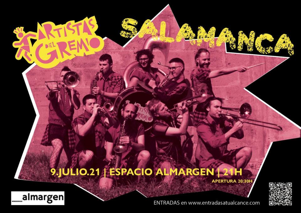 Espacio Almargen Artistas del Gremio Salamanca Julio 2021