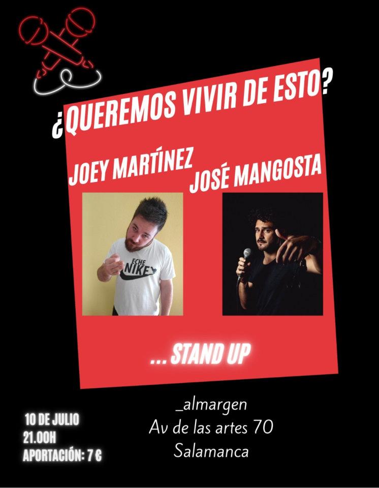 Espacio Almargen José Mangosta & Joey Martínez Salamanca Julio 2021