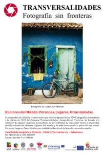 Facultad de Geografía e Historia Rumores del Mundo: personas, lugares, otras miradas Salamanca Julio agosto 2021