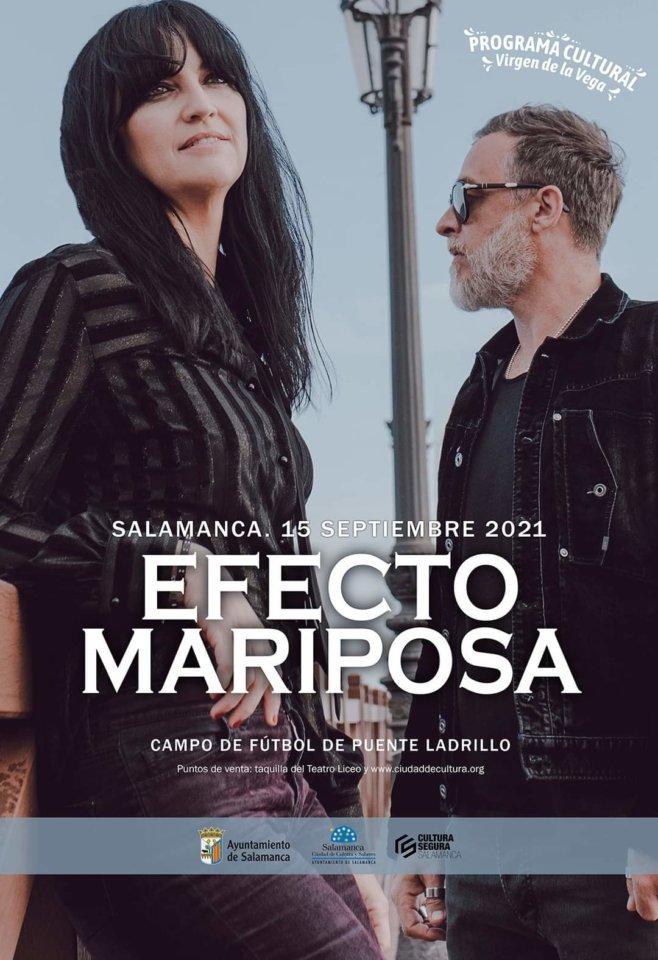 Ferias y Fiestas 2021 Efecto Mariposa Salamanca Septiembre 2021