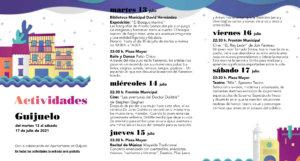 Guijuelo Noches de Cultura Julio 2021