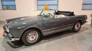 Museo de Historia de la Automoción de Salamanca MHAS Alfa Romeo 2000 Spider Touring Julio 2021