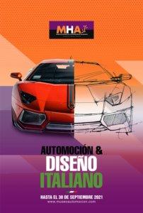 Museo de Historia de la Automoción de Salamanca MHAS Automoción y diseño italiano 2021