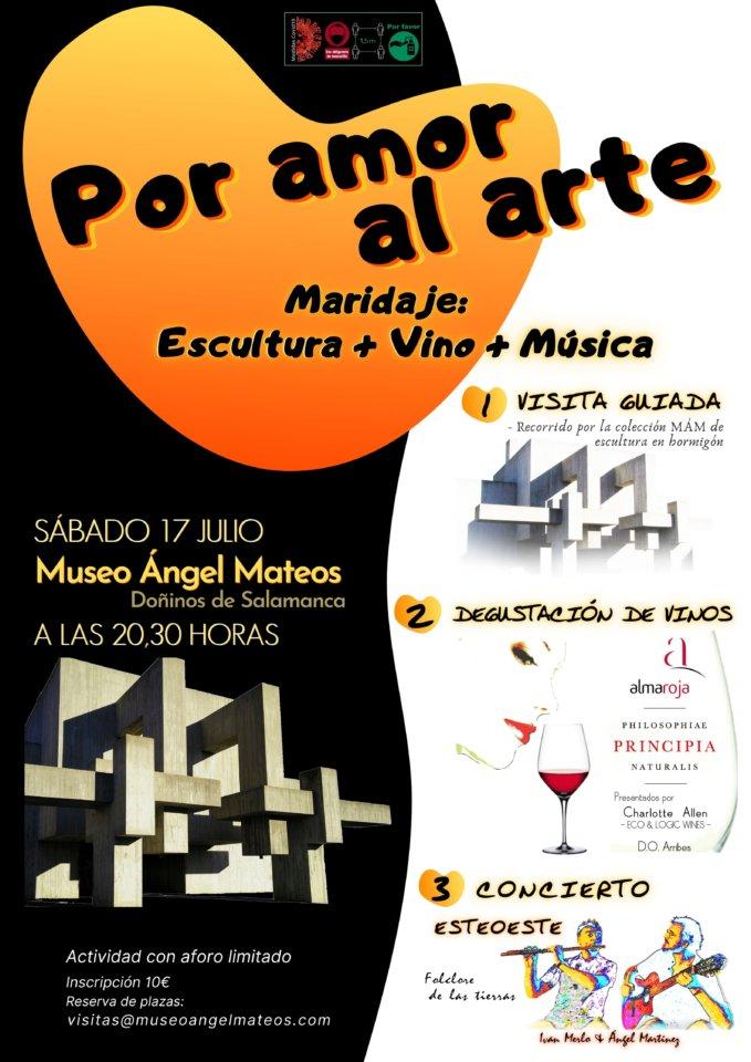 Museo del Hormigón Ángel Mateos MÁM Por amor al arte Doñinos de Salamanca Julio 2021