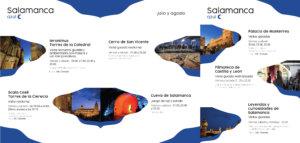 Salamanca azul Julio agosto 2021