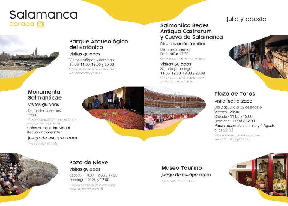 Salamanca dorada Julio agosto 2021