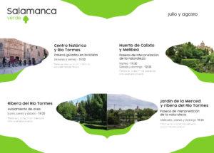 Salamanca verde Julio agosto 2021