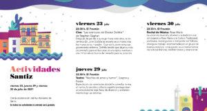 Santiz Noches de Cultura Julio 2021