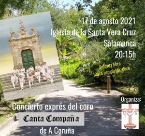 Capilla de la Vera Cruz Canta Compaña Salamanca Agosto 2021