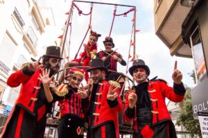Ferias y Fiestas 2021 Klez 80 Circus XV Festival de Artes de Calle Salamanca Septiembre 2021