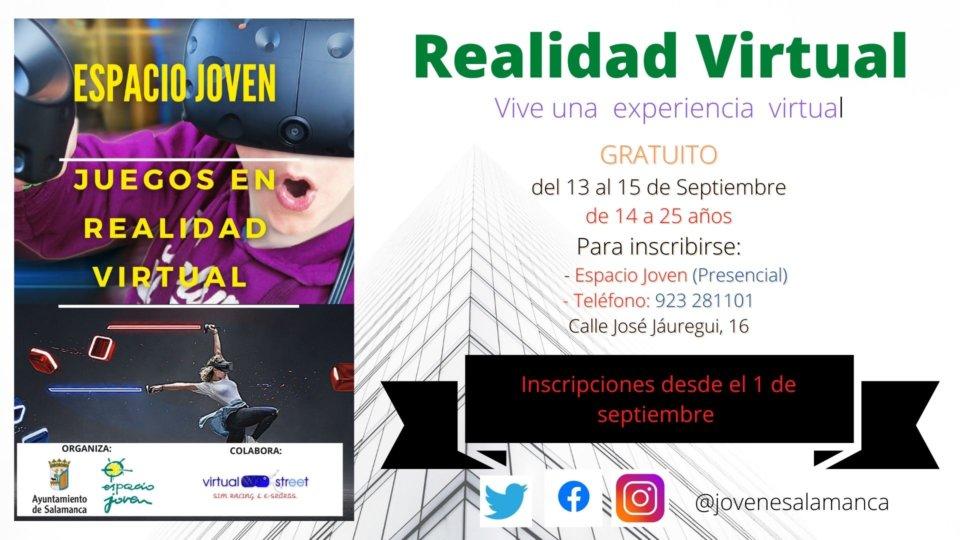 Ferias y Fiestas 2021 Realidad virtual Salamanca Septiembre 2021