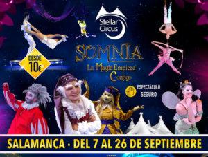Ferias y Fiestas 2021 Stellar Circus Salamanca Septiembre 2021