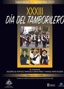 Ferias y Fiestas 2021 XXXIII Día del Tamborilero Salamanca Septiembre 2021