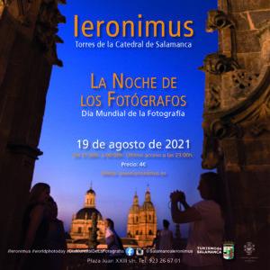 Ieronimus La noche de los fotógrafos Salamanca Agosto 2021