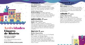 Linares de Riofrío Noches de Cultura Agosto 2021