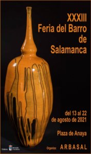 Plaza de Anaya XXXIII Feria del Barro ARBASAL Salamanca Agosto 2021
