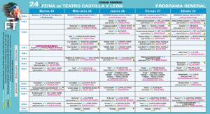 Programa Ciudad Rodrigo XXIV Feria de Teatro de Castilla y León Agosto 2021