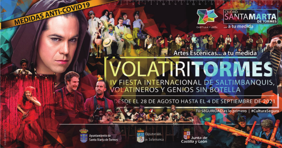 Santa Marta de Tormes Volatiritormes Agosto septiembre 2021