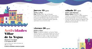Villar de la Yegua Noches de Cultura Agosto 2021