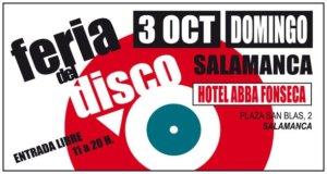 Abba Fonseca Feria del Disco Salamanca Octubre 2021