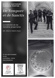 Catedral Vieja Schola Cantorum Paradisi Portae Salamanca Septiembre 2021